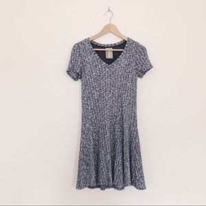 Anthropologie Dolan Knit Fit and Flare Dress
